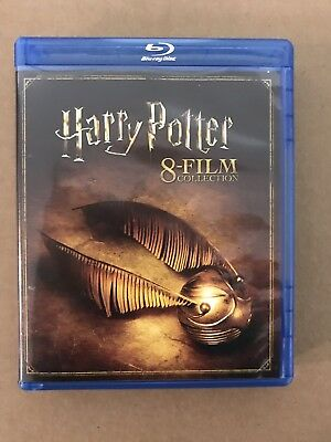 Harry Potter: Complete 8-Film Collection (Blu-ray Disc, 2017, 8-Disc Set)
