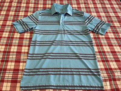 Adidas PureMotion Mens Small Short Sleeve Athletic Polo Golf Shirt