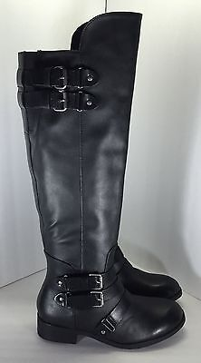 3e24d759c51 NEW DOLCE VITA Meris Over-The-Knee Women Boots Black Leather - Size ...