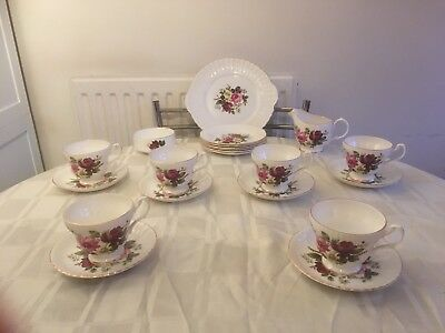 Royal Sutherland Tea Set
