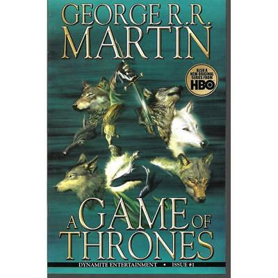 A Game of Thrones #1 One Dynamite Entertainment comic George R.R Martin 2011