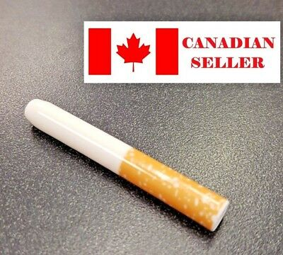 Ceramic One Hitter Pipe. (Cigarette look), smoking. Canadian seller. Buy 3 Get 1