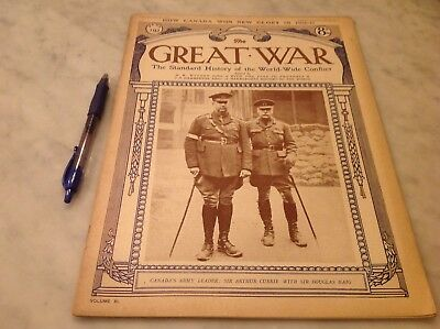 The Great War Standard History of World-Wide Conflict Pt 192 Canadian Glory 1917