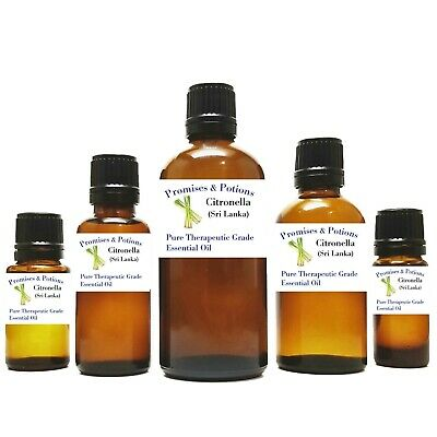 Citronella 100% Pure Therapeutic Grade Essential Oil Buy 3 get 2 Free 10% Off