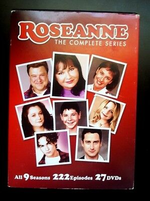 Roseanne: The Complete Series (DVD, 2013, 27-Disc Set) EXCELLENT CONDITION