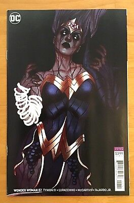 Wonder Woman 57 2018 Cover B Variant Jenny Frison Cover 1st Print DC NM