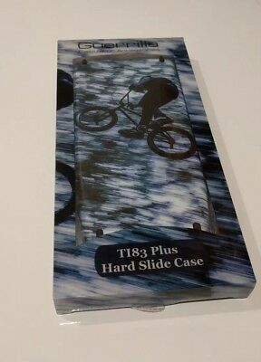 Texas Instruments TI-83 Plus  Guerrilla Hard Slide Case Cover - Speed BMX