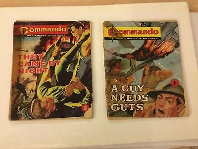 Commando Number 3  A Guy Needs Guts, & Commando Number 6  They Came By Night