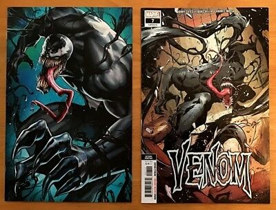 Venom 7 2018 Cover B Variants 1st & 2nd Print Ryan Stegman Covers Donny Cates NM