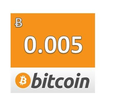 24 hour BITCOIN Mining Contract Speed 50 TH/s .005 BTC