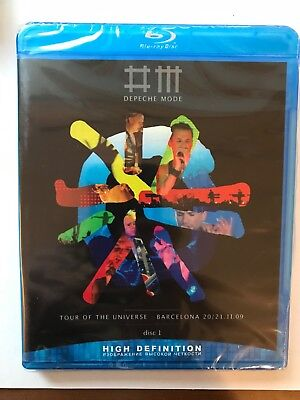NEW! DEPECHE MODE-Tour of the UNIVERSE: Barcelona 09. DISC №1. Blu-Ray disc