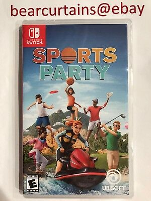 Sports Party Switch Nintendo Brand New Factory Sealed Fast Ship with Tracking
