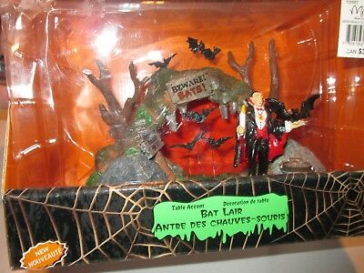 Lemax Spooky Town Collection Bat Lair NEW