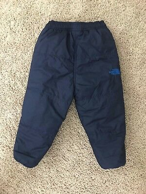 EUC The North Face toddler boys' snow pants 18-24 months blue
