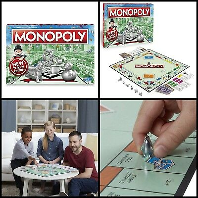 Monopoly Classic Board Game Original Edition Trading Traditional Family Fun