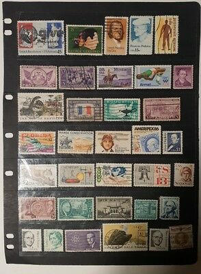 stamps  united states  - used  -  Lot 284