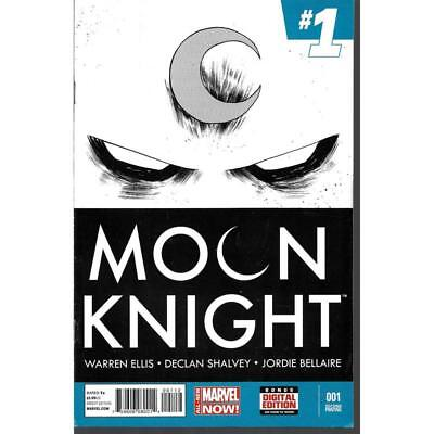 Moon Knight #1 Marvel Comics 06/2014 2nd Second Printing RARE scarce comic books