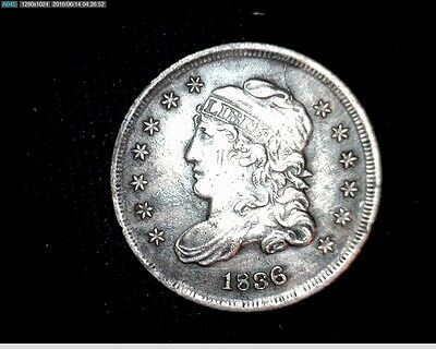 1836 Capped Bust Silver Half Dime #6737