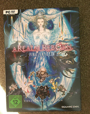 Final Fantasy XIV A Realm Reborn Collectors Edition PC unbenutzt
