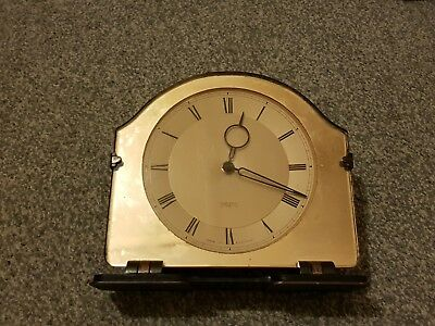 Smiths 8 day clock 1930s Art deco