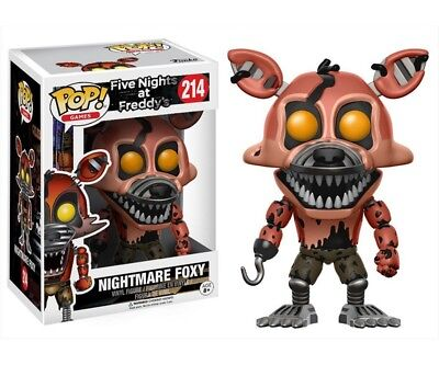 FUNKO POP 214  Five Nights at Freddys Nightmare Foxy