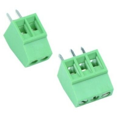 2 or 3 Way Terminal Block 2.54mm Pitch 6A