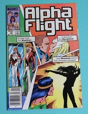 Alpha Flight 18 (Marvel, Jan. 1985)