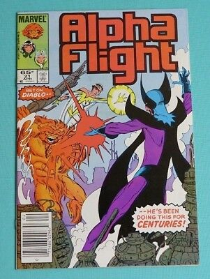 Alpha Flight 21 (Marvel, Apr. 1985)