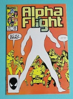 Alpha Flight 25 (Marvel, Aug. 1985)