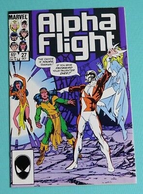 Alpha Flight 27 (Marvel, Oct. 1985)