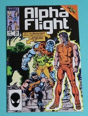 Alpha Flight 28 (Marvel, Nov. 1985)
