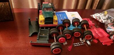 1968 Hess Truck Parts, All Original Including Cab And Battery Cover !!!!!!