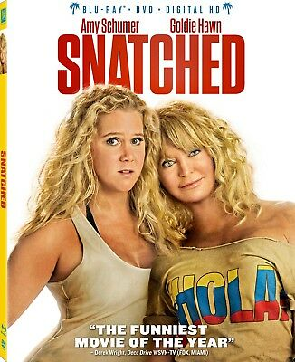 BRAND NEW! Snatched Blu Ray DVD Digital HD Amy Schumer Goldie Hawn