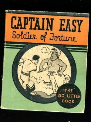 1934 Captain Easy Soldier of Fortune Big Little Book RARE SOFTC0VER  Roy Crane