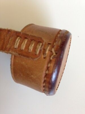 WW2 Sniper Rifle Scope Leather Lens Cover VTG 37 & 25 mm German American British