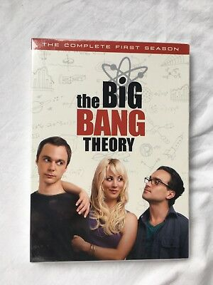The Big Bang Theory - The Complete First Season (DVD, 2008, 3-Disc Set) NEW