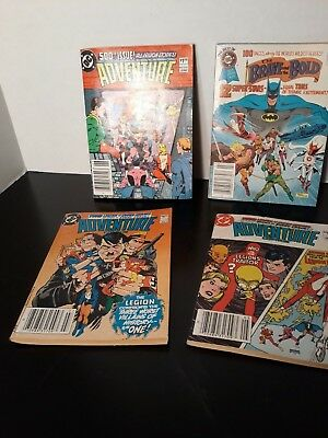 Lot of 4 Tablet size comic books (Batman, Superman, and More)