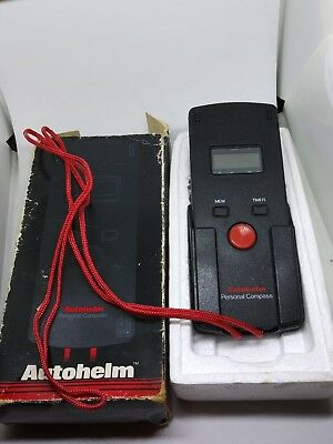 Autohelm Personal Compass TESTED and WORKS with BOX