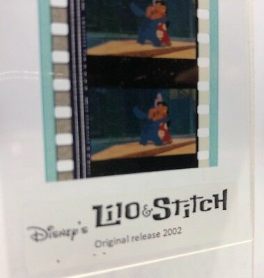 Disney LILO & STITCH Authentic Animation Film 5-Cells Strip HUGGING