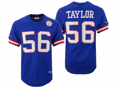 quality design dcd95 97311 MITCHELL & NESS M&N NFL New York Giants Lawrence Taylor Crew Neck Mesh  Jersey O