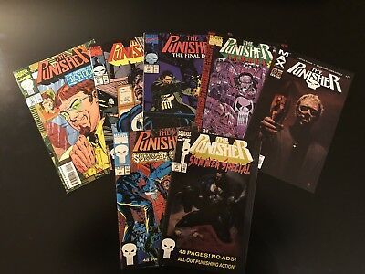 Punisher Comic Book Lot 2 5 53 63 Summer Special 1 2 Punisher 11 Max Comics