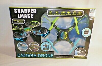 Sharper Image Rechargeable Remote Control Camera Drone 6499
