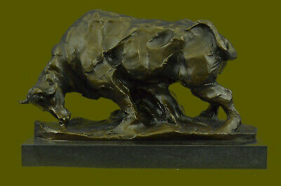 Bronze Sculpture Modern Abstract Art Bull by Milo Hot Cast Figurine Figure Deal