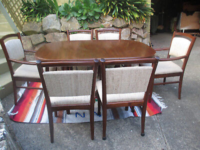 RETRO/VINTAGE EXTENSION DINING SUITE By Chiswell.....Ringwood Nth, Vic.