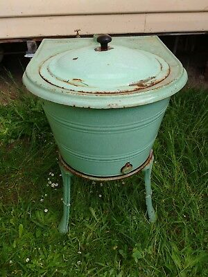 Metters antique old Laundry cloths washer Copper boiler cast iron Australiana