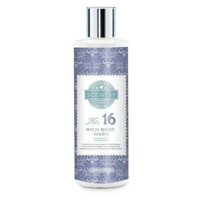 Scentsy Rich Body Wash No.16 Creamy Coconut Sheer Freesia Silver Driftwood New!