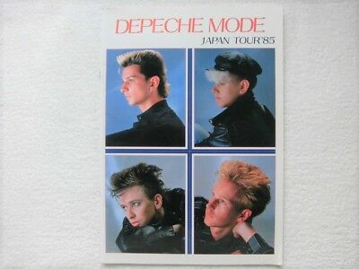Depeche Mode 1985 / Japan Tour Program Book / Very Rare / Hard To Find