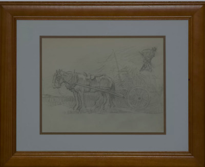 Charles Wheeler Pencil Drawing