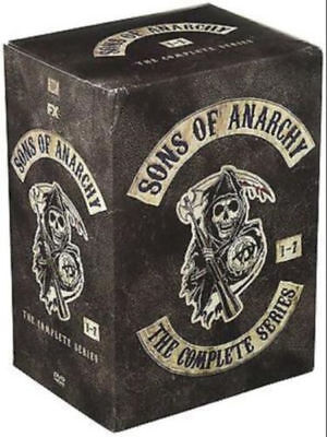 Sons of Anarchy:The Complete Series Seasons 1-7 1 2 3 4 5 6 7 ( 30 DVD, 2015)new
