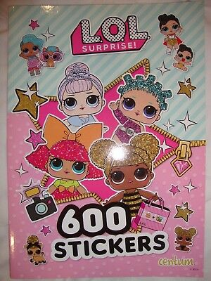 LOL Surprise Sticker Activity Book Over 600 Stickers Brand New RRP £5.99